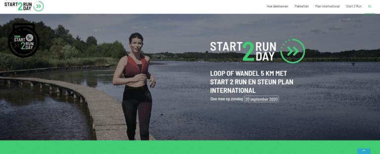 Start 2 Run Day 20/09/2020