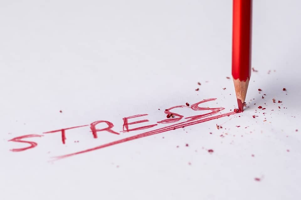 stress burnout hoofd leeg