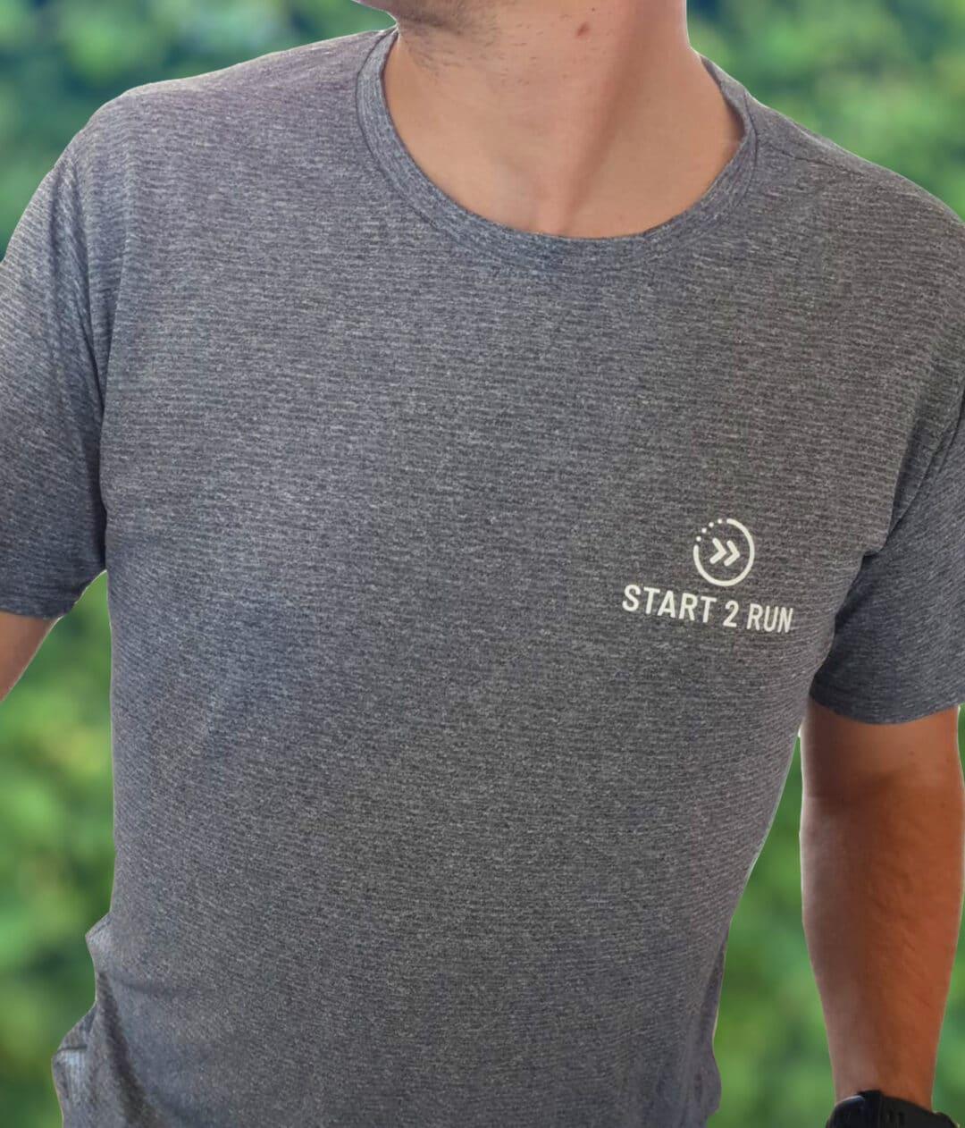Start 2 Run Tshirt man